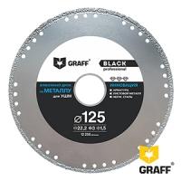 GRAFF Black 125 мм Алмазный диск для УШМ