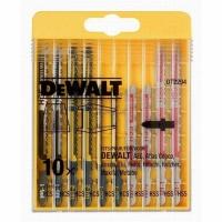 DeWALT DT2294 Набор для лобзика по дереву и металлу, 10 шт
