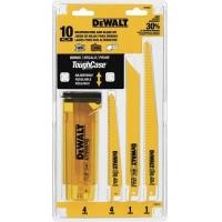 DeWalt DW4898 Комплект биметаллических полотен 10 шт