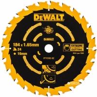 DeWALT DT10302 Extreme, 184х16 мм 24 зуба по дереву