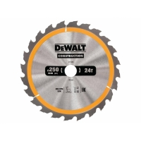 DeWALT DT1956 CONSTRUCTION, 250х30 мм 24 зуба