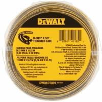 DeWALT DT20650-QZ Леска для триммера 15 м * 2 мм