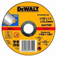 DeWALT DT42340Z INDUSTRIAL, 125х1,2х22,2 мм