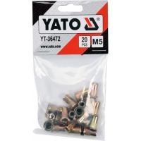 Заклепки YATO YT-36472 M5