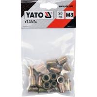 Заклепки YATO YT-36474 M8