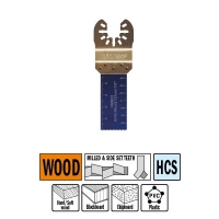 CMT Погружное пильное полотно 22 мм для древесины